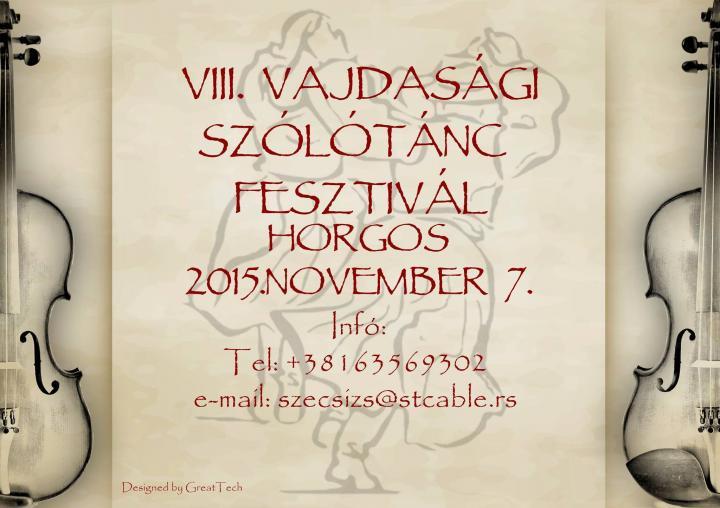 VIII. Vajdasági Szólótánc Fesztivál