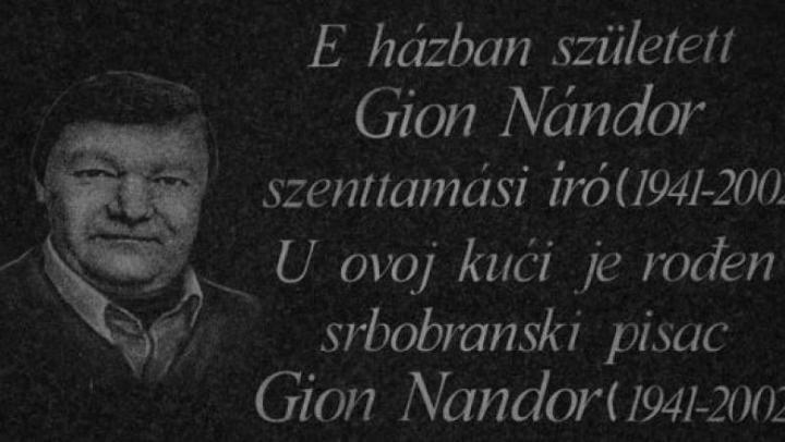 Gion Nándor Novellapályázat 2019