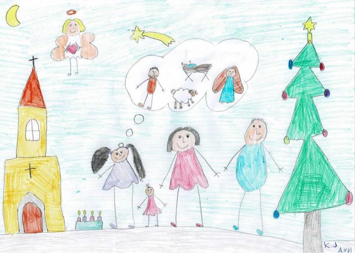A mi karácsonyunk - rajzpályázat