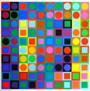 Vasarely és az op-art mint inspiráció