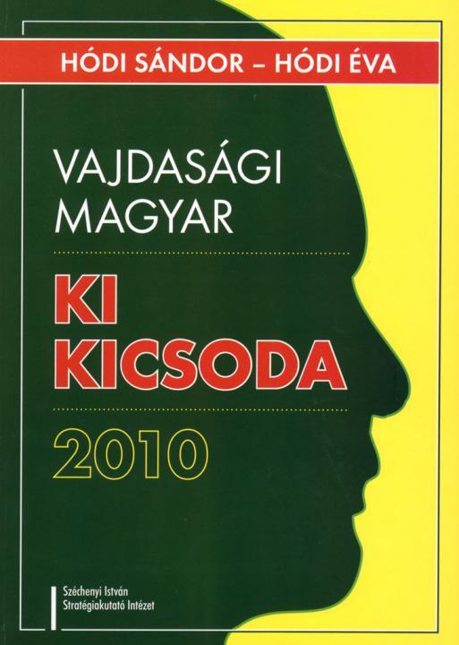 Vajdasági magyar ki kicsoda 2010