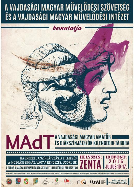 MAdT 2016 – a Vajdasági Magyar Amatőr és Diákszínjátszók Kilencedik Tábora