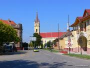 Magyarkanizsa főtere