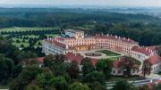 Az Esterházy-kastély madártávlatból